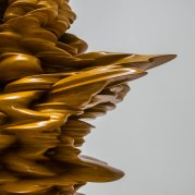Wood sculpture by Tony Cragg.
