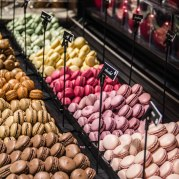 Macaroons at Georges Larnicol. I suppose I'm a bit of a poser since I didn't actually eat any of these.