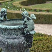 According to National Geographic, the Versailles gardens took 40 years to complete. So kind of like the 405. These cherubs patiently waited.