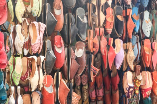 Shoes at the Souk