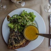 This quiche alone, from Le Voltigeur on Rue des Frances Bourgeois, was worth my trip to Paris. The soup was pretty good, too.