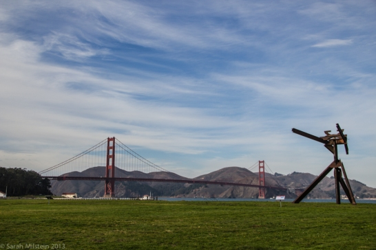 Mark Di Suvero Sculptures at Crissy Field