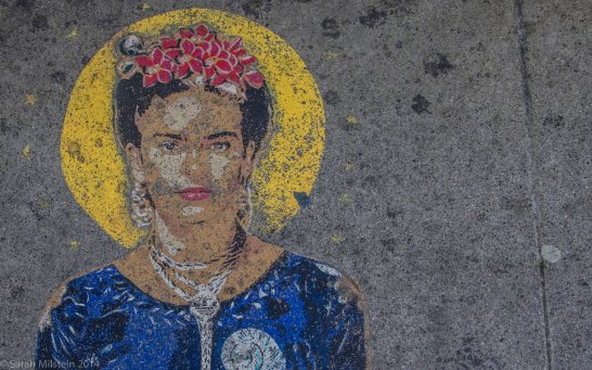 Frida Kahlo Graffiti