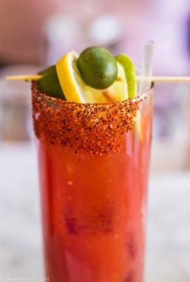 Bloody Mary Bar At Lyfe Kitchen