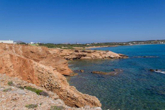 Coastline towards Ampelas