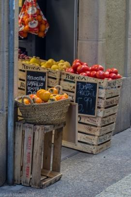 Produce in markets